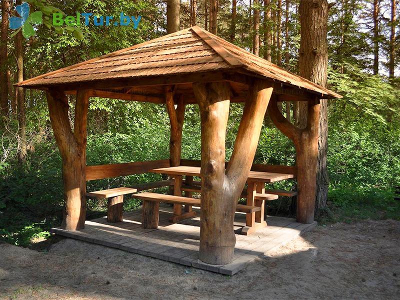 Отдых в Белоруссии Беларуси - база отдыха Комарово - Беседка