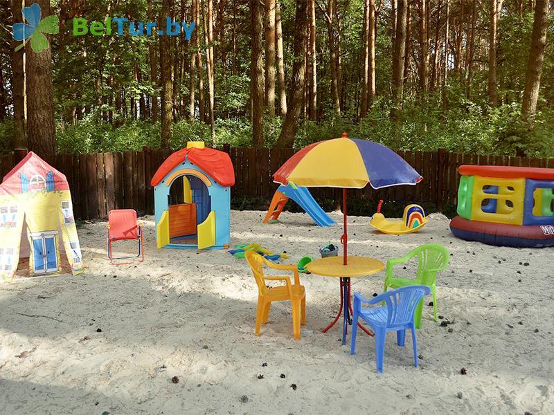 Отдых в Белоруссии Беларуси - база отдыха Комарово - Детская площадка