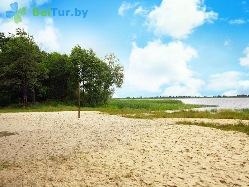 Отдых в Белоруссии Беларуси - база отдыха Комарово - Пляж