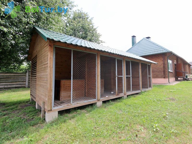 Отдых в Белоруссии Беларуси - дом охотника Новогрудский - Вольер