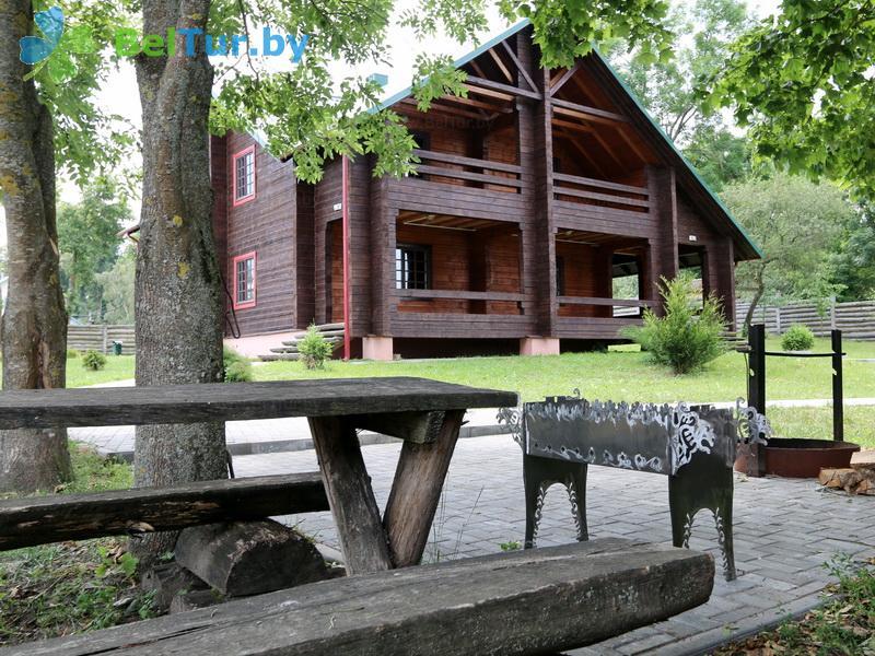 Отдых в Белоруссии Беларуси - дом охотника Новогрудский - Площадка для шашлыков