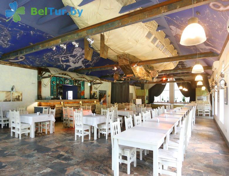 Отдых в Белоруссии Беларуси - база отдыха Загородный клуб Фестивальный - Ресторан