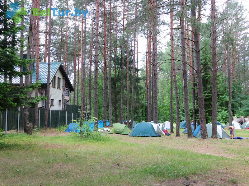 Отдых в Белоруссии Беларуси - база отдыха Загородный клуб Фестивальный - Площадка для палаток