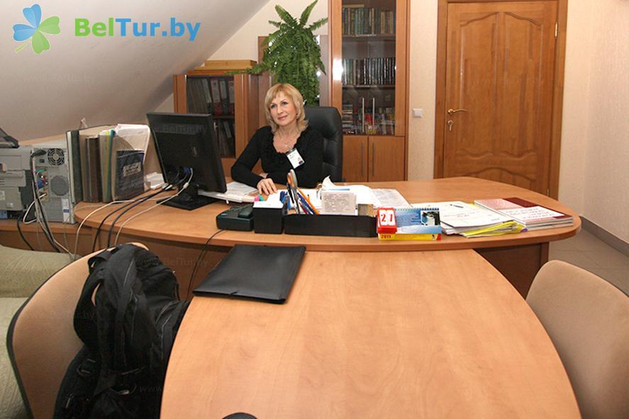 Отдых в Белоруссии Беларуси - оздоровительный комплекс Огонёк - Регистратура