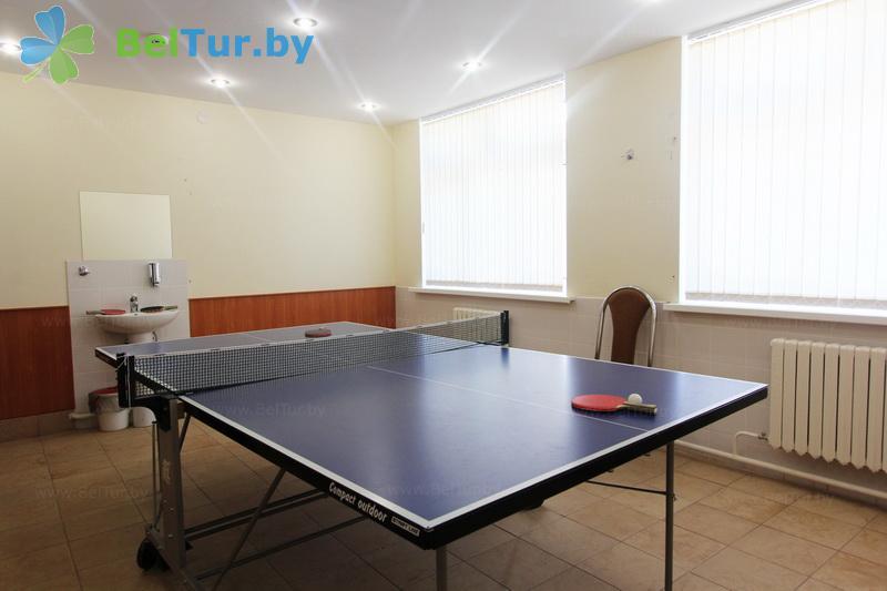 Отдых в Белоруссии Беларуси - дом отдыха Лидия - Теннис настольный