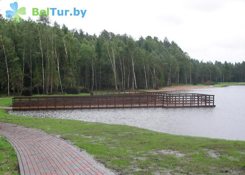 Отдых в Белоруссии Беларуси - дом отдыха Лидия - Водоём