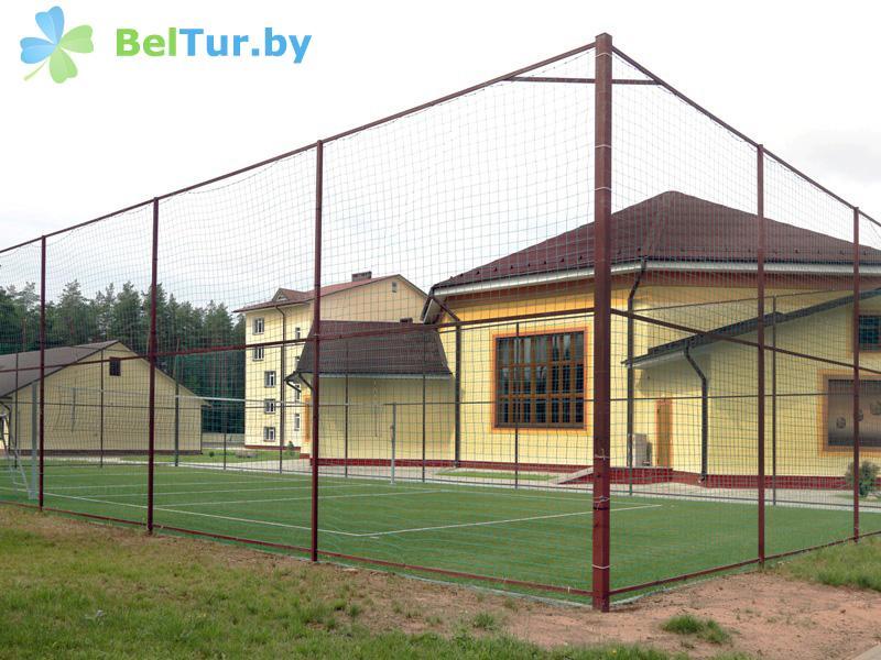 Отдых в Белоруссии Беларуси - дом отдыха Лидия - Спортплощадка