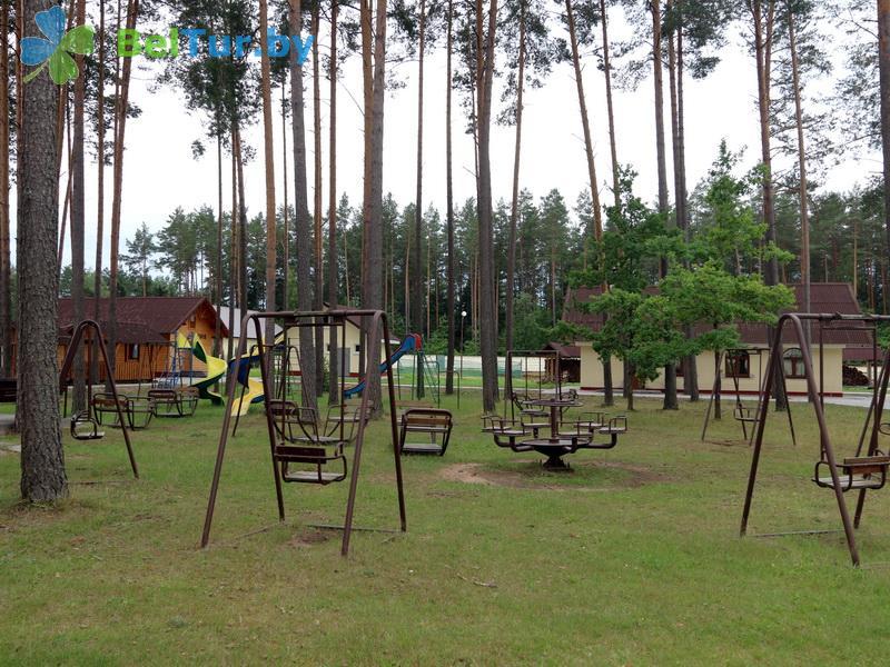 Отдых в Белоруссии Беларуси - дом отдыха Лидия - Детская площадка