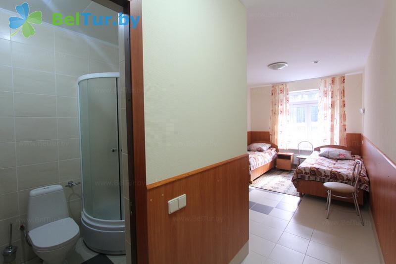Отдых в Белоруссии Беларуси - дом отдыха Лидия - двухместный однокомнатный стандарт (корпуса А, P, R)