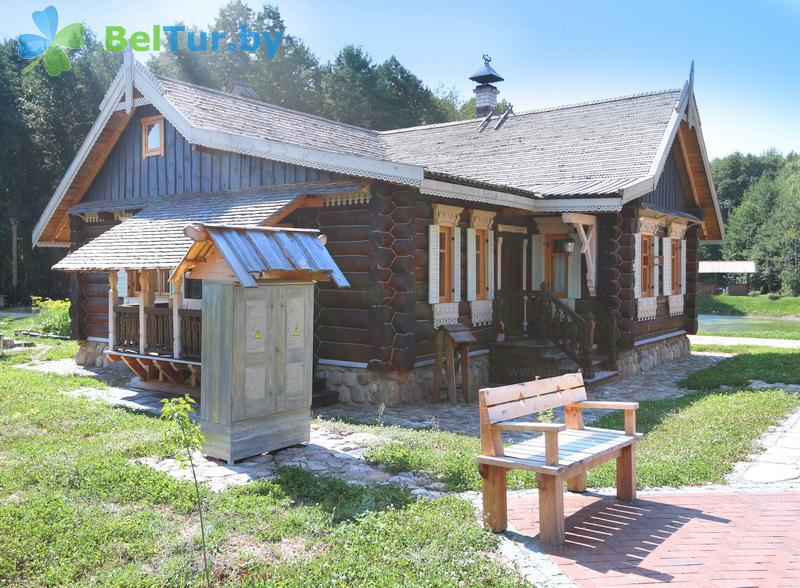 Отдых в Белоруссии Беларуси - туристический комплекс Наносы - корпуса №3-12 «Общинный дом»