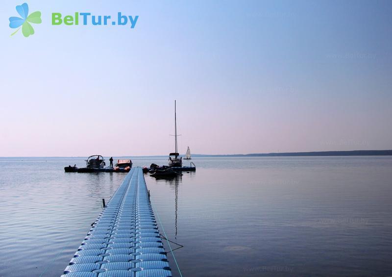 Отдых в Белоруссии Беларуси - туристический комплекс Наносы - Водоём