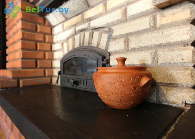 Отдых в Белоруссии Беларуси - туристический комплекс Наносы - Кухня