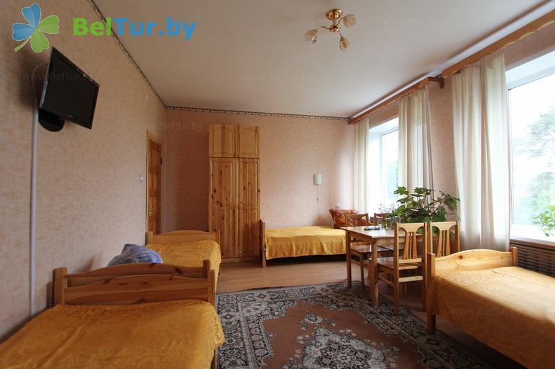 Отдых в Белоруссии Беларуси - гостевой дом Богино - четырехместный однокомнатный (гостевой дом)