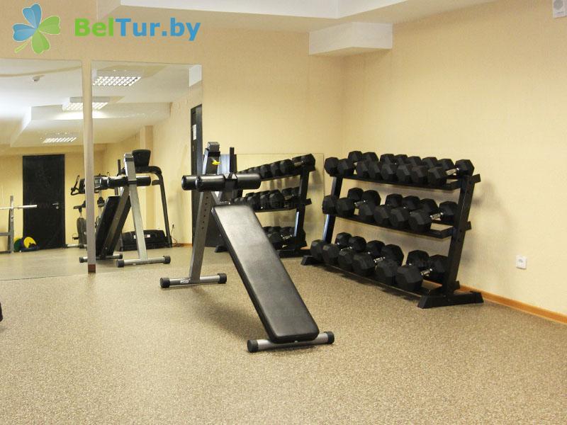 Отдых в Белоруссии Беларуси - гостиница Нарочь - Тренажерный зал