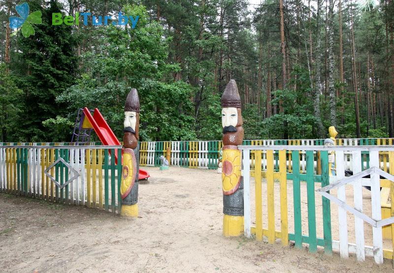 Отдых в Белоруссии Беларуси - база отдыха Глобус - Детская площадка