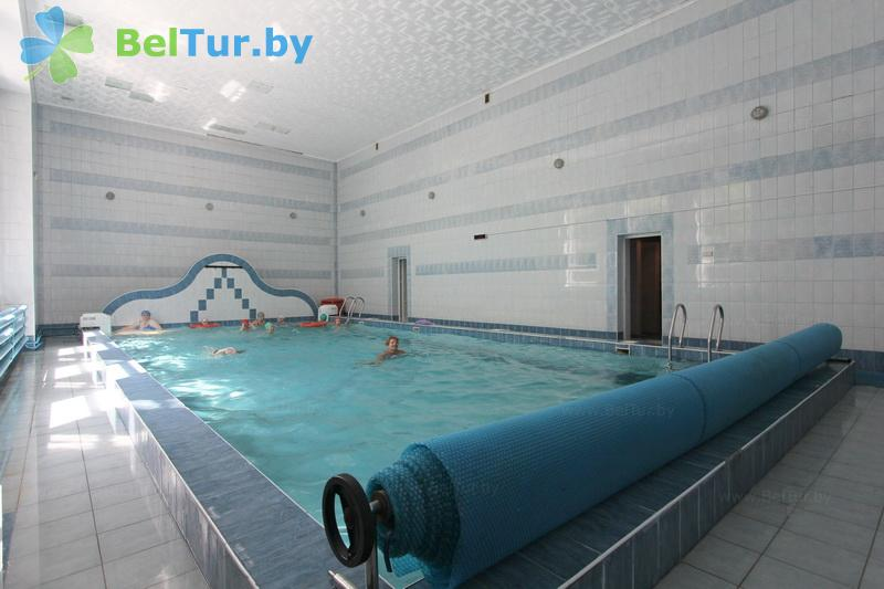 Отдых в Белоруссии Беларуси - база отдыха Глобус - Бассейн
