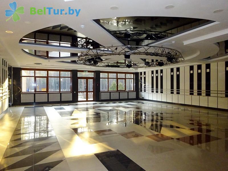 Отдых в Белоруссии Беларуси - база отдыха Глобус - Танцевальный зал