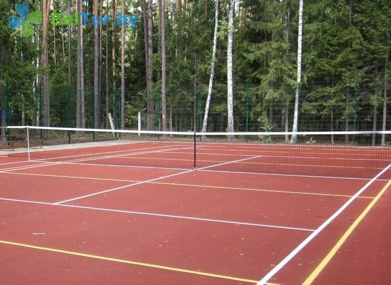Отдых в Белоруссии Беларуси - база отдыха Глобус - Теннисный корт