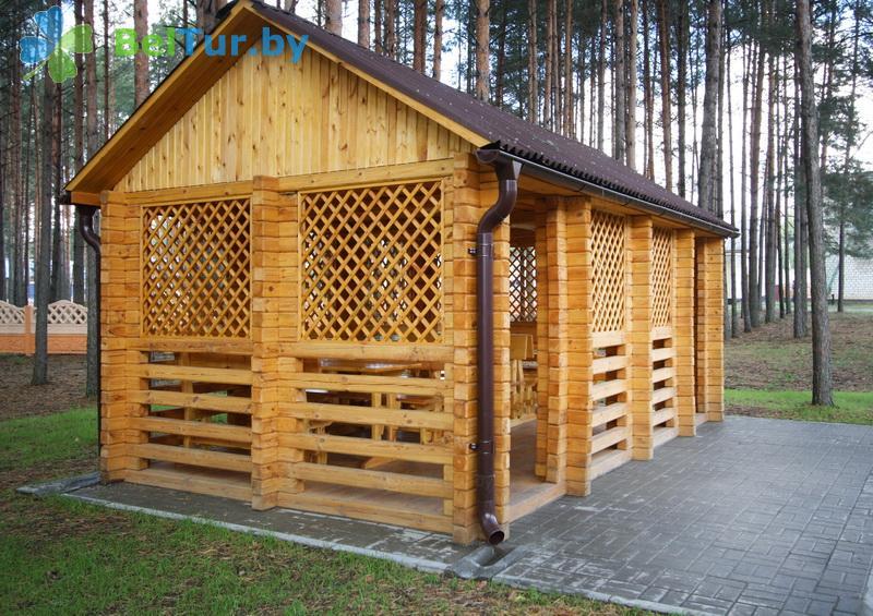 Отдых в Белоруссии Беларуси - база отдыха Глобус - Площадка для шашлыков