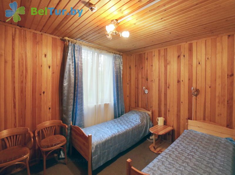 Отдых в Белоруссии Беларуси - база отдыха Глобус - двухместный однокомнатный (спальный корпус №1)
