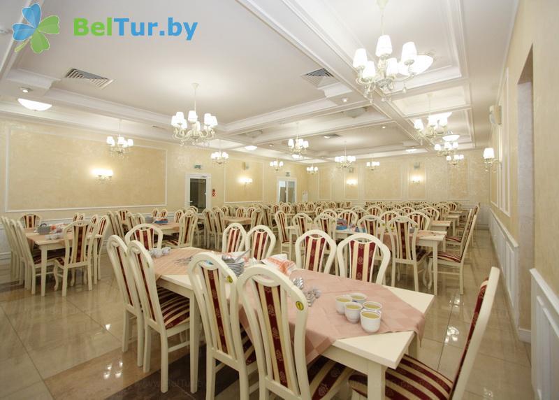 Отдых в Белоруссии Беларуси - база отдыха Глобус - Столовая