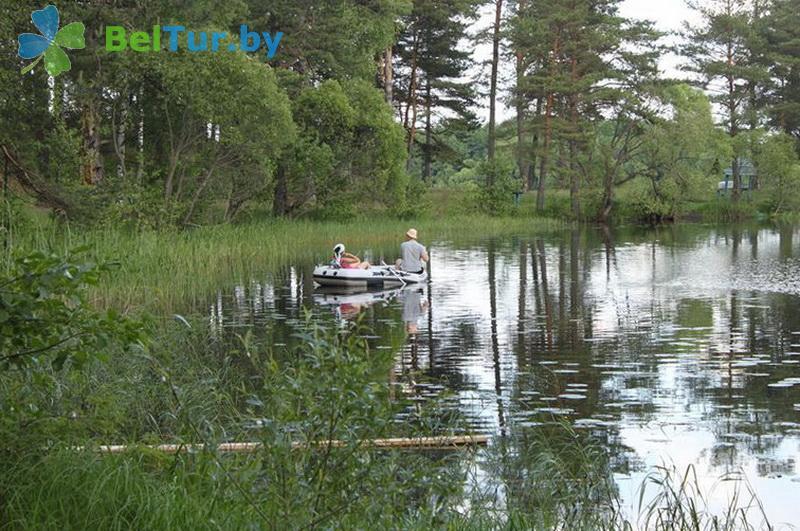 Отдых в Белоруссии Беларуси - база отдыха Селява тур - Прокат лодок