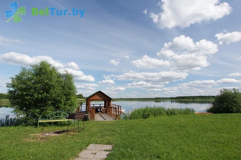 Отдых в Белоруссии Беларуси - дом охотника Камайск - Территория и природа