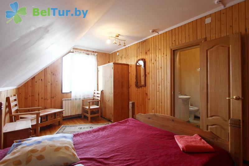 Отдых в Белоруссии Беларуси - дом охотника Камайск - одноместный однокомнатный люкс (дом охотника)