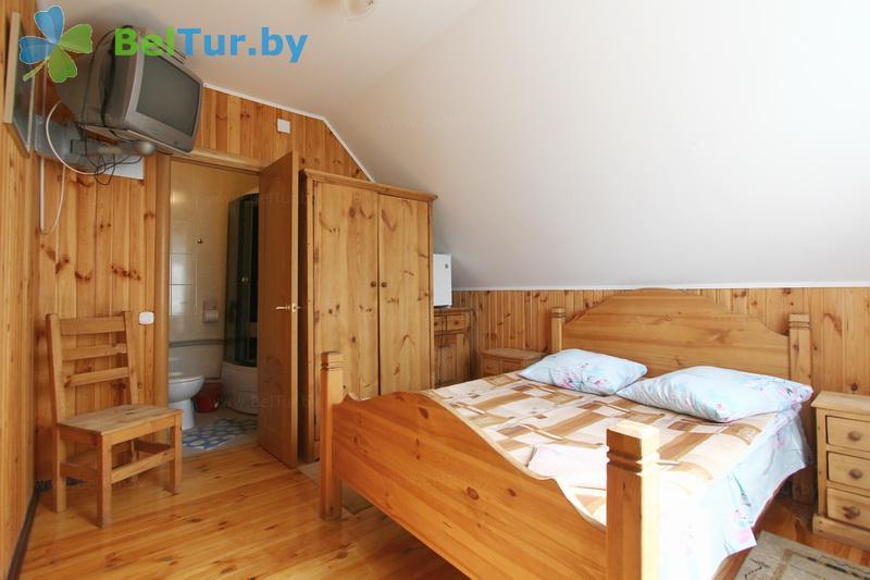 Отдых в Белоруссии Беларуси - дом охотника Камайск - двухместный однокомнатный люкс (дом охотника)