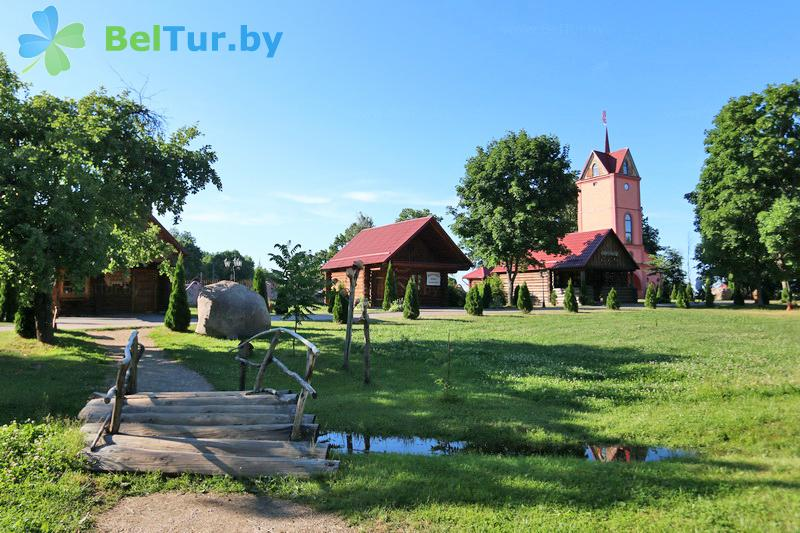 Отдых в Белоруссии Беларуси - усадьба Дукорский маёнтак - Территория и природа