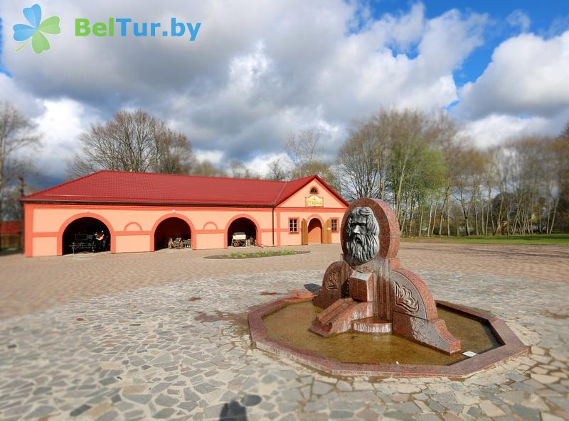 Отдых в Белоруссии Беларуси - усадьба Дукорский маёнтак - стайня