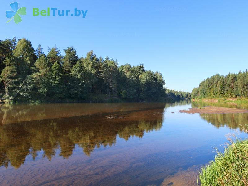Отдых в Белоруссии Беларуси - дом охотника Николаево - Пляж