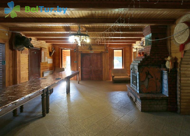 Отдых в Белоруссии Беларуси - дом охотника Николаево - Банкетный зал