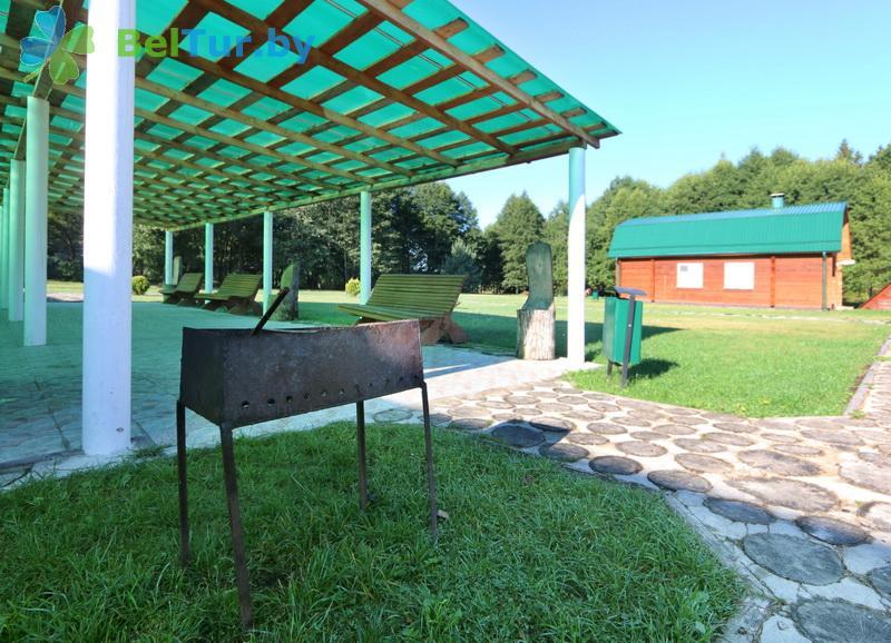 Отдых в Белоруссии Беларуси - дом охотника Николаево - Площадка для шашлыков