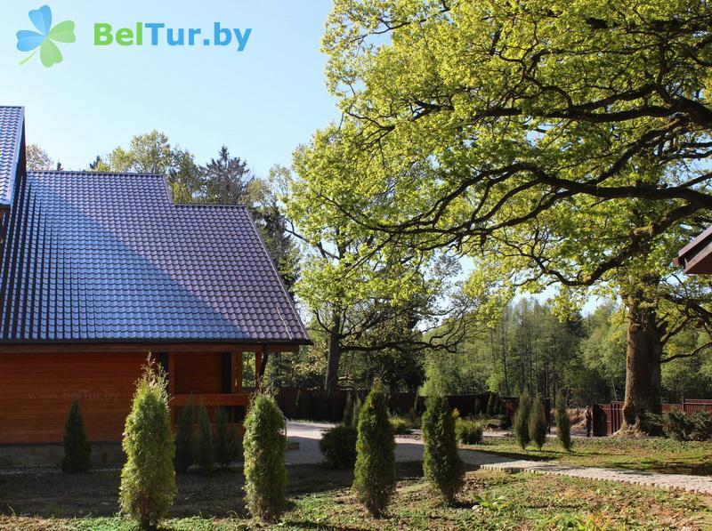 Отдых в Белоруссии Беларуси - база отдыха Охотник у дуба - Территория и природа