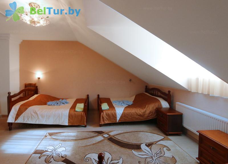 Отдых в Белоруссии Беларуси - база отдыха Королевичи - трехместный однокомнатный (гостиница)