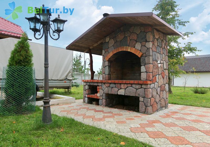 Отдых в Белоруссии Беларуси - база отдыха Королевичи - Площадка для шашлыков