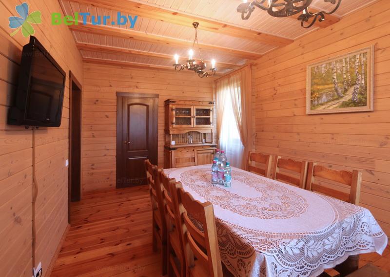 Отдых в Белоруссии Беларуси - горнолыжный спортивно-оздоровительный комплекс Логойск - десятиместный (садовый вип-дом №1, 2)