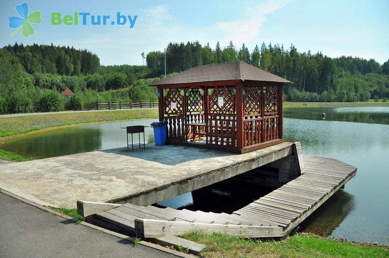 Отдых в Белоруссии Беларуси - горнолыжный спортивно-оздоровительный комплекс Логойск - Рыбалка