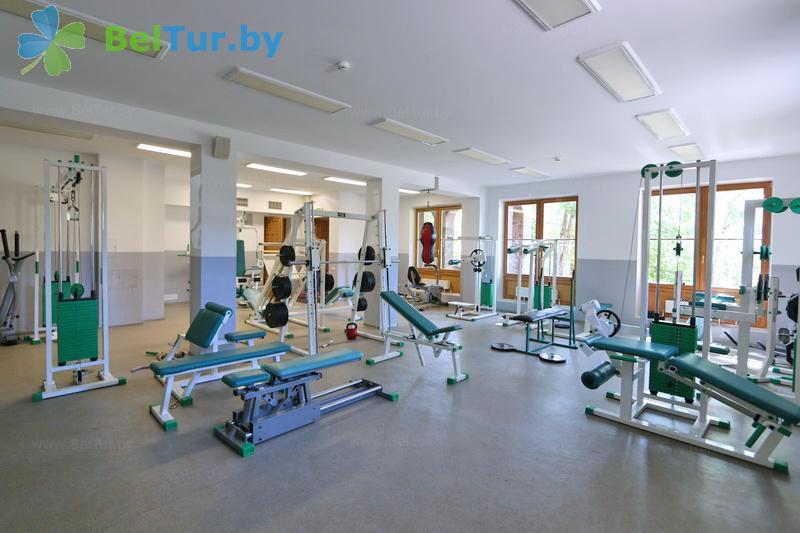 Отдых в Белоруссии Беларуси - горнолыжный спортивно-оздоровительный комплекс Логойск - Тренажерный зал