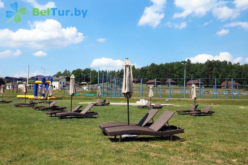 Отдых в Белоруссии Беларуси - горнолыжный спортивно-оздоровительный комплекс Логойск - Пляж