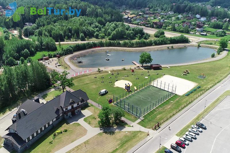 Отдых в Белоруссии Беларуси - горнолыжный спортивно-оздоровительный комплекс Логойск - Водоём