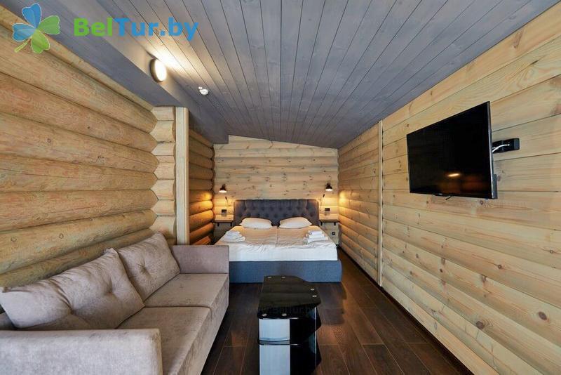 Rest in Belarus - hotel complex Braslav Lakes - two-room double (chale deluxe)
