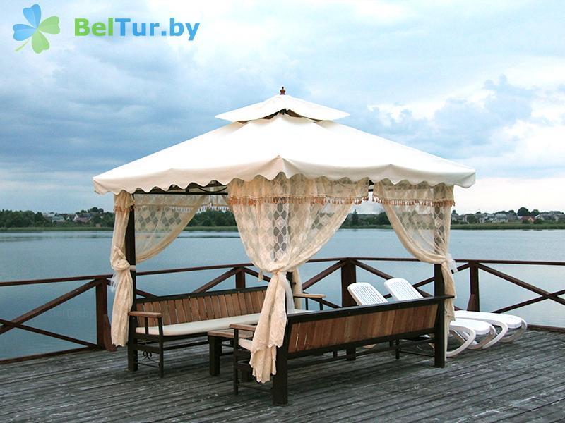 Отдых в Белоруссии Беларуси - гостиничный комплекс Браслав Лэйкс / Braslav Lakes - Беседка
