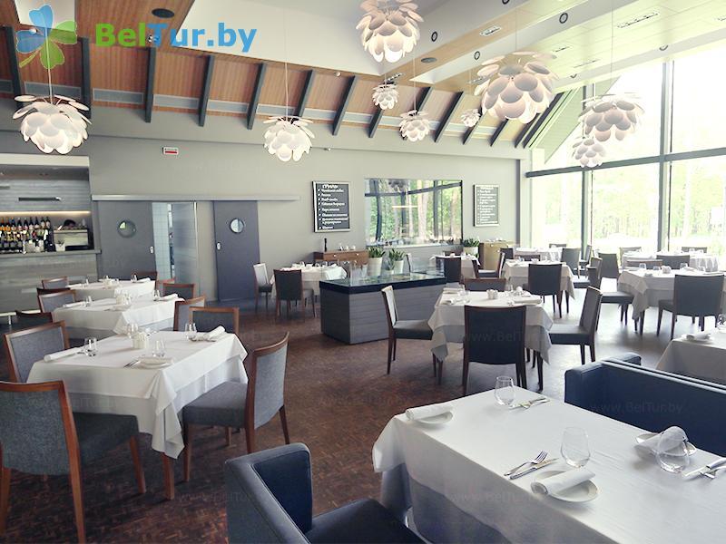 Отдых в Белоруссии Беларуси - гостиничный комплекс Шале Гринвуд / Chalet Greenwood - Ресторан