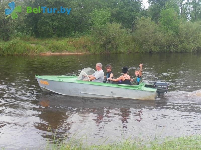 Отдых в Белоруссии Беларуси - усадьба Жерелец - Рыбалка
