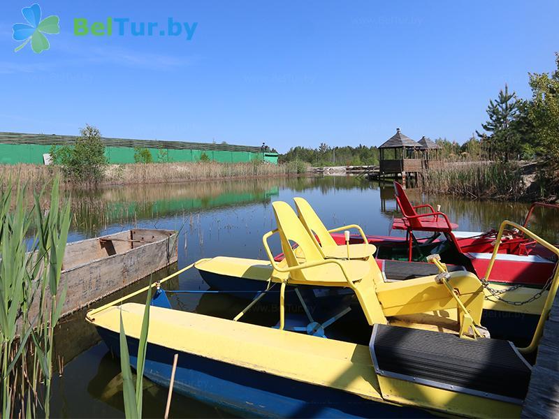 Отдых в Белоруссии Беларуси - усадьба Жерелец - Прокат лодок