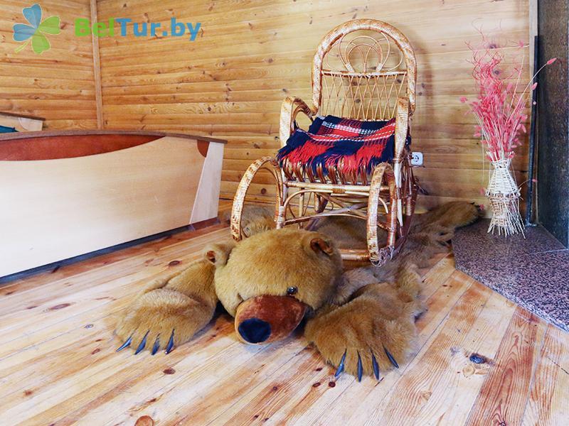 Отдых в Белоруссии Беларуси - усадьба Жерелец - дом (2 человека) (дом №2)