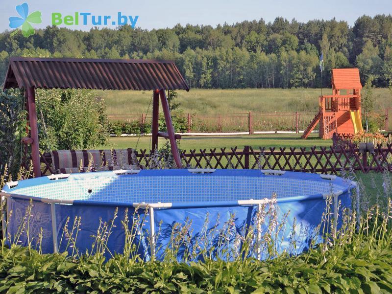 Отдых в Белоруссии Беларуси - усадьба Владимирская - Бассейн