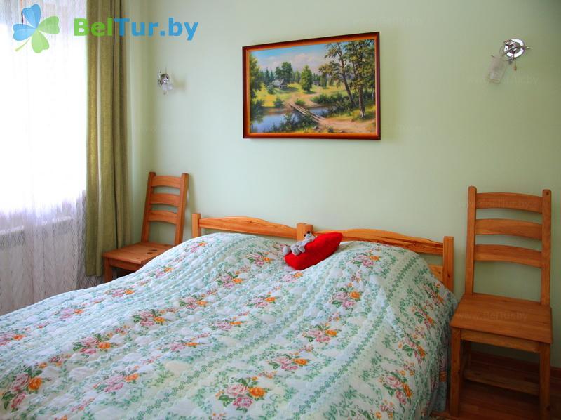 Отдых в Белоруссии Беларуси - усадьба Беловежская гостевая - двухместный однокомнатный (дом)